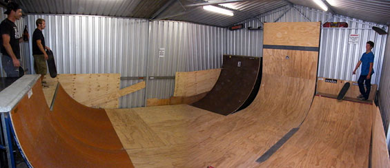 scum shed ramps